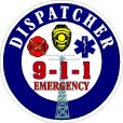 911 Dispatcher Decal's