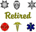 Retired Service Decals