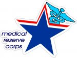 Medical Reserve Corps Decals