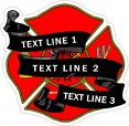 Fire-Rescue Memorial Decals
