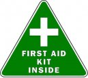 First Aid Decals