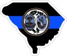 Thin Blue Line State /Seal Decal