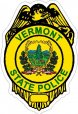 Vermont State Police Decals