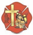 Religious Firefighter Decals