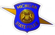 Michigan State Police Decals