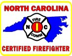 North Carolina Certif Decals