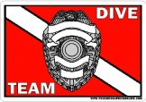 Police/Sheriff Dive Team Decals