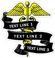 Nurse / Nursing Memorial Decals