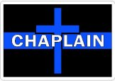 Thin Blue Line Religious Decals