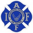 IAFF Military Related Decals