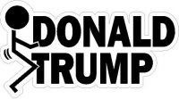 Anti Donald Trump Decals