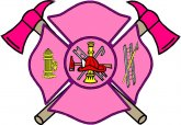 Lady Firefighter Decals