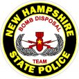 New Hampshire State Police Decal