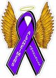 Alzheimers Awareness Decals