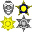 Stock Law Enforcement Decal's