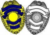 Shield Police Decal's