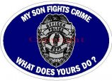 Law Enforcement Family Decals