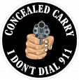Concealed Weapon Decals