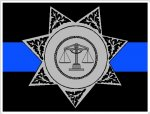 Thin Blue Line Sheriff's Decals