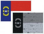 Distressed State Flag Decals