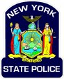 New York State Police Decals