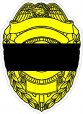 Police Mourning Decals
