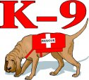 K-9 Search & Rescue Decals