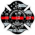 IAFF Thin Line Decals