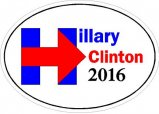 Pro Hilliary Clinton Decals